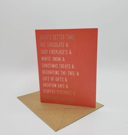 Oh, Hello Friend Look in the Mirror Christmas Greeting Card - Oh Hello Friend