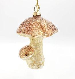 Glass Mushroom Ornament