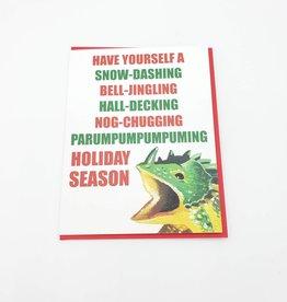 "Mincing Mockingbird ""Have Yourself a Holiday Season"" Greeting Card - The Mincing Mockingbird"