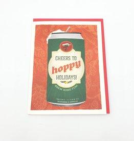 "Seltzer ""Hoppy Holidays"" Holiday Greeting Card - Seltzer"