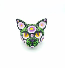 Sugar Cat Bank Purple Daisies