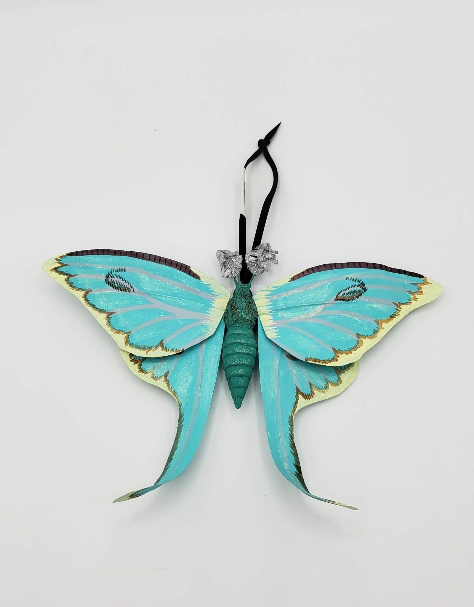 Luna Moth Ornament