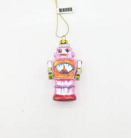 Mini Robot Ornament, Glass