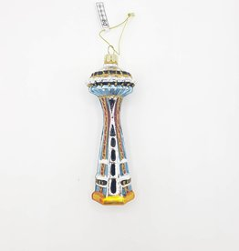 Space Needle Ornament, Glass
