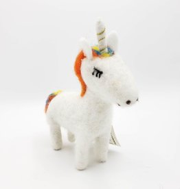 Felted Woolie Friend Ulysses Unicorn