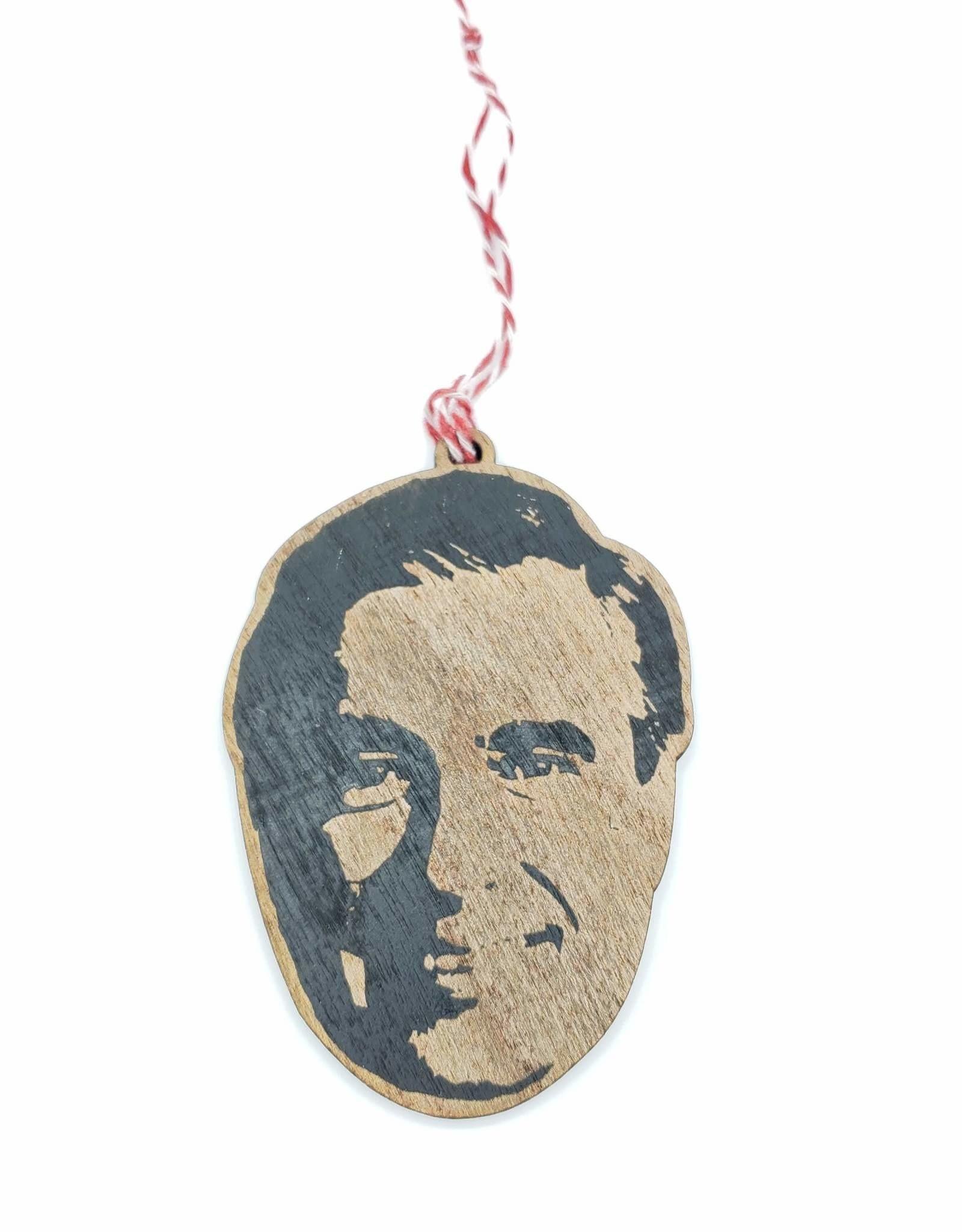 Mister Rogers Wood Ornament