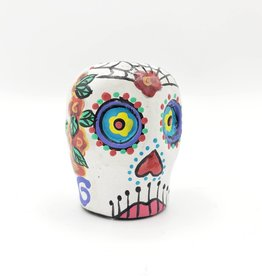 Sugar Skull Hand Painted
