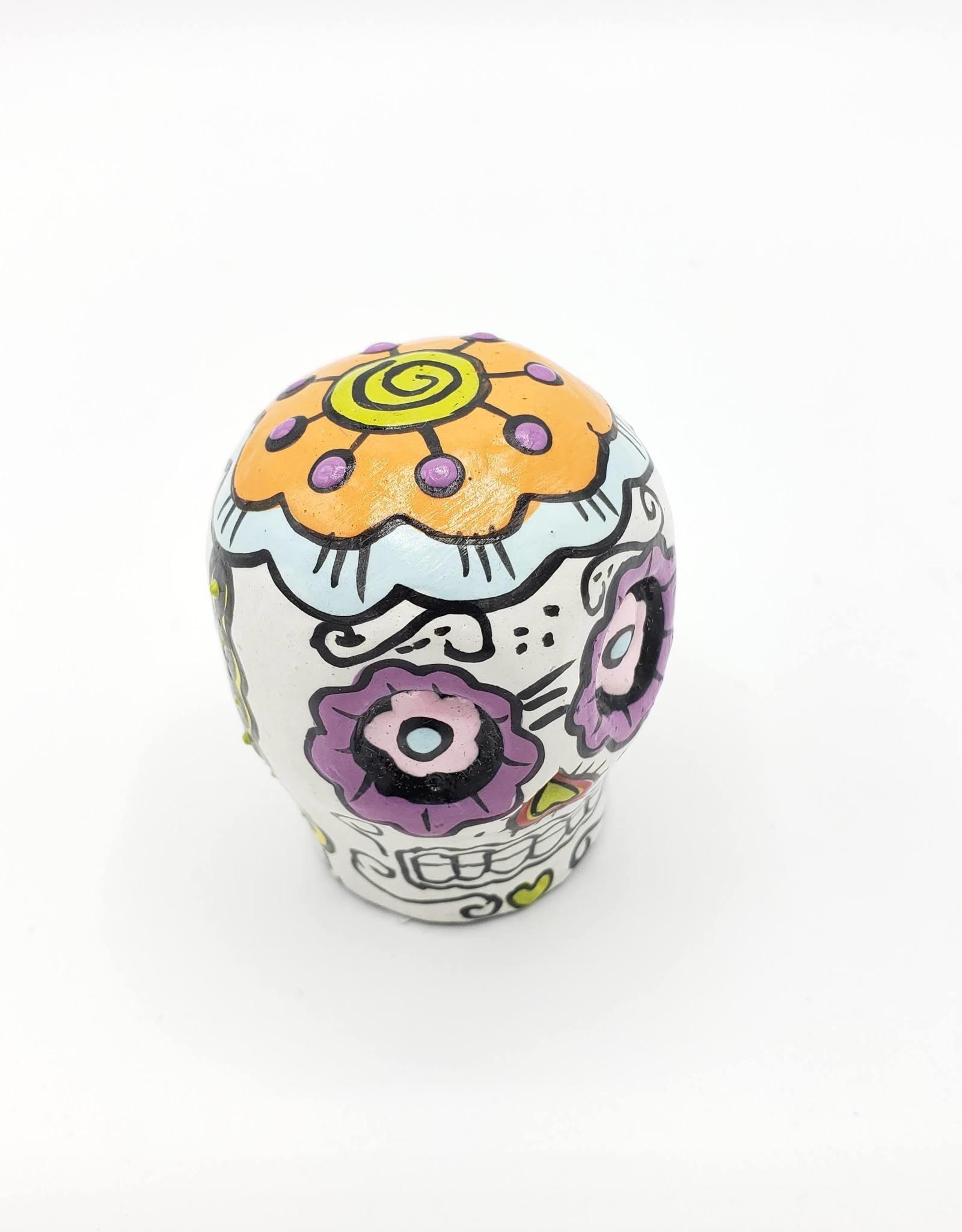 Sugar Skull Hand Painted