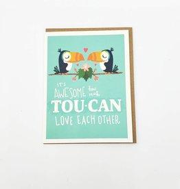 Seltzer Toucan Love Greeting Card - Seltzer