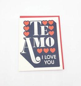 Seltzer Te Amo Greeting Card - Seltzer