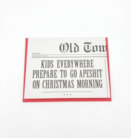 Kids Everywhere Prepare - Old Tom Foolery