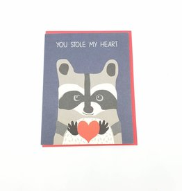 You Stole My Heart Valentine's Day Greeting Card