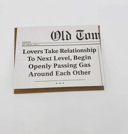 Next Level Relationship Greeting Card - Old Tom Foolery