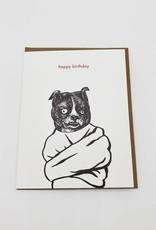 Mincing Mockingbird Crazy Bitch Birthday Greeting Card - The Mincing Mockingbird