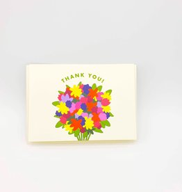 Seltzer Bouquet Thank You Greeting Card -Seltzer