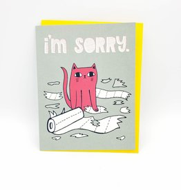 "Allison Cole ""I'm Sorry"" Greeting Card -Allison Cole"