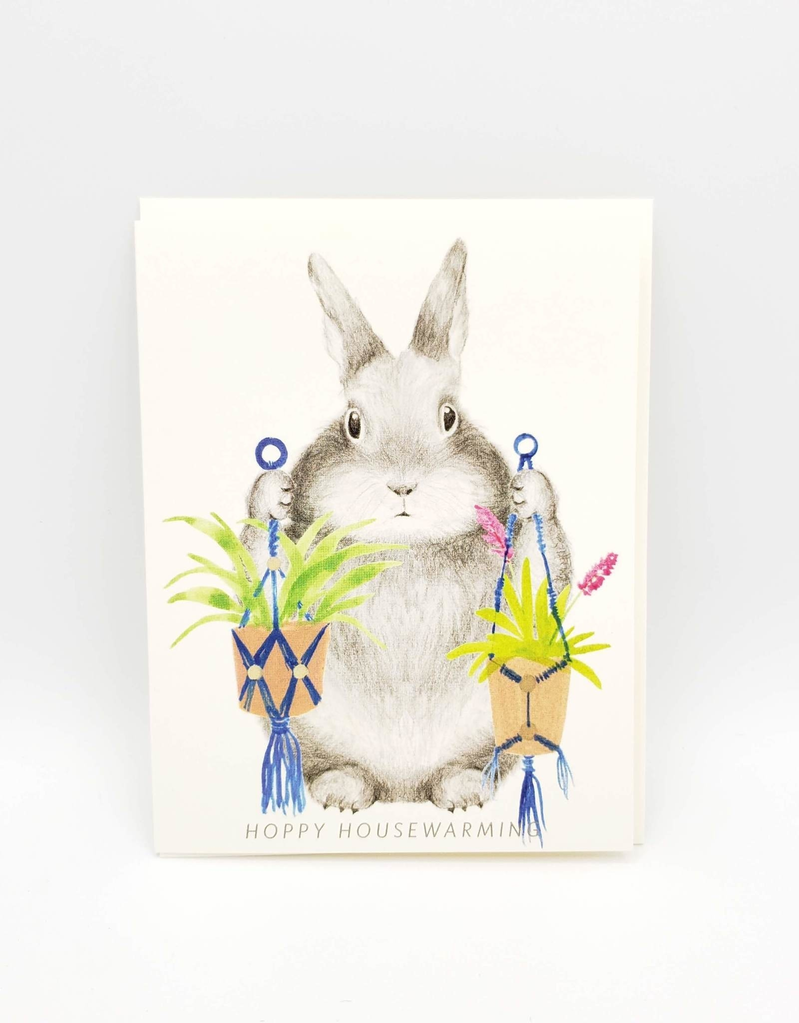 Hoppy Housewarming Greeting Card - Dear Hancock