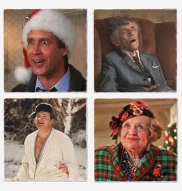 National Lampoon Christmas Coaster Set - Versatile