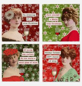 Christmas Gals Coaster Single - Versatile