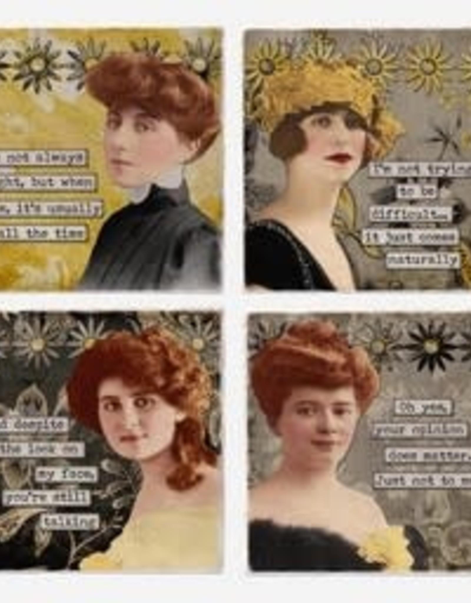 Classy Ladies Coaster Singles - Versatile