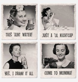 Snarky Cocktail Gals Coaster Set - Versatile