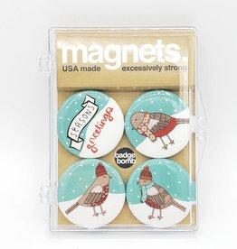Badgebomb Holiday Birds Badge Bomb Magnet Set
