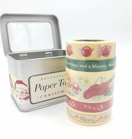 Cavallini Papers Holiday Washi Paper Tape