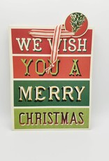Cavallini Papers Vintage Merry Christmas Gift Bag