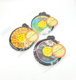 Vintage Recycled 45 RPM Record Ornament Set of 3 - by Vinylux