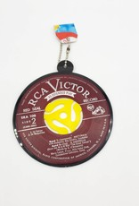 Vintage Recycled Record Ornament Single - Vinylux