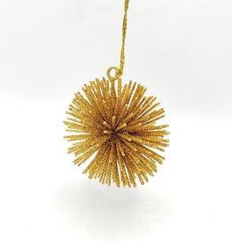 Glittery Starburst Ornament