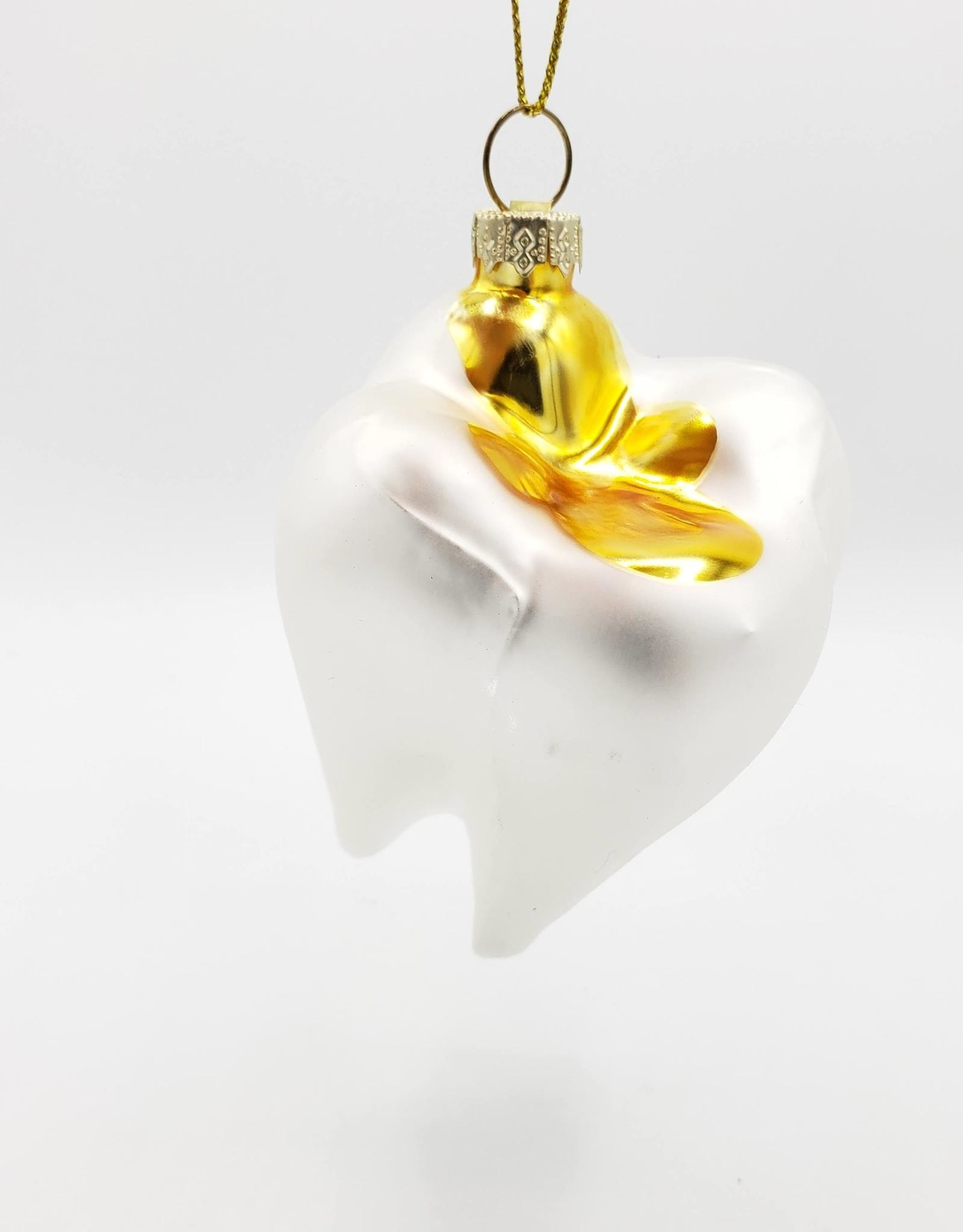 Tooth Ornament, Glass