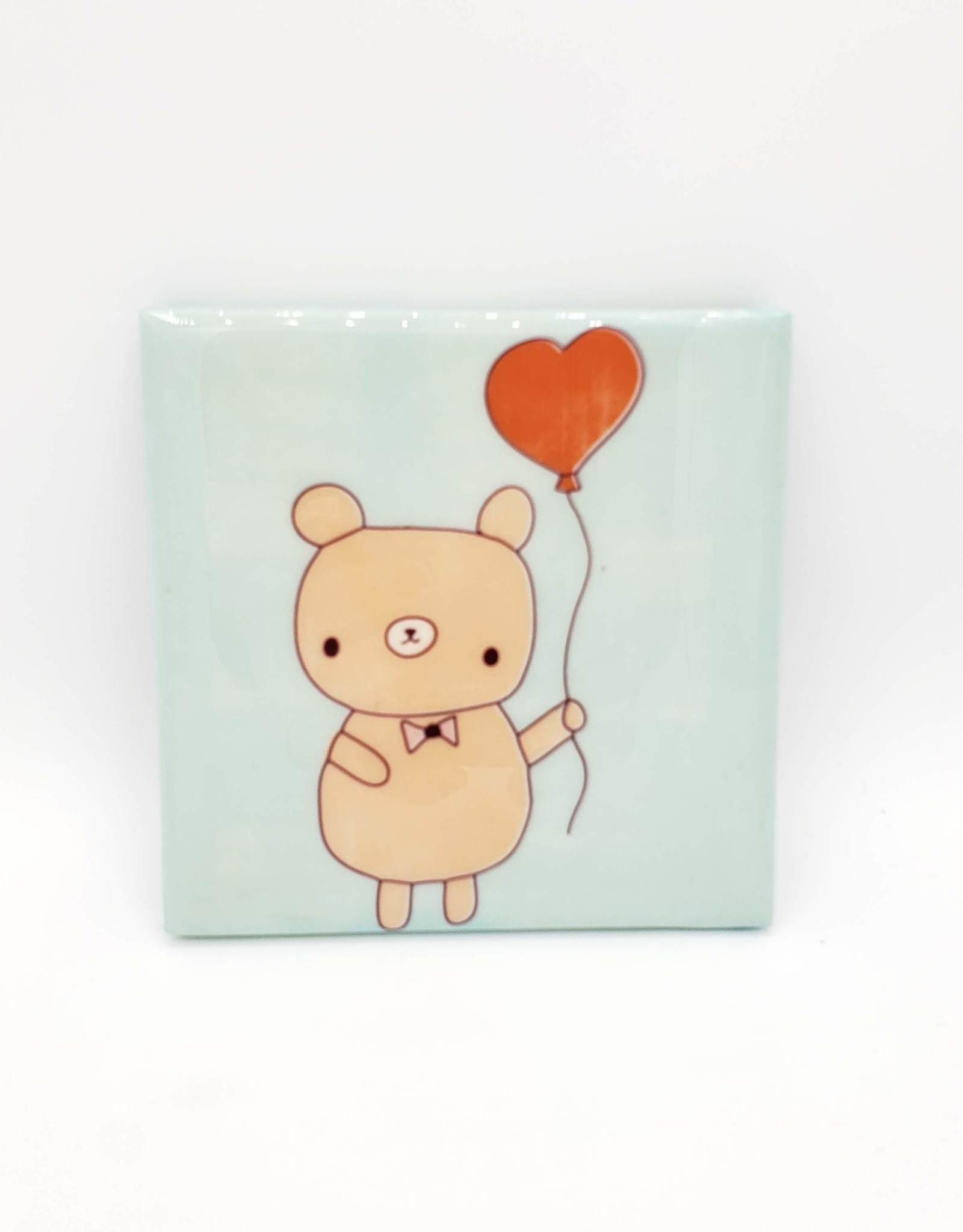 Bear & Balloon Drink Coaster