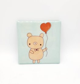 Bear & Balloon Drink Coaster