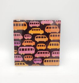Bus Traffic Jam Drink Coaster