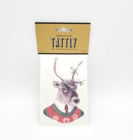 Tattly Christmas Stag Tattly Temporary Tattoos (Pairs) by Ryan Berkley