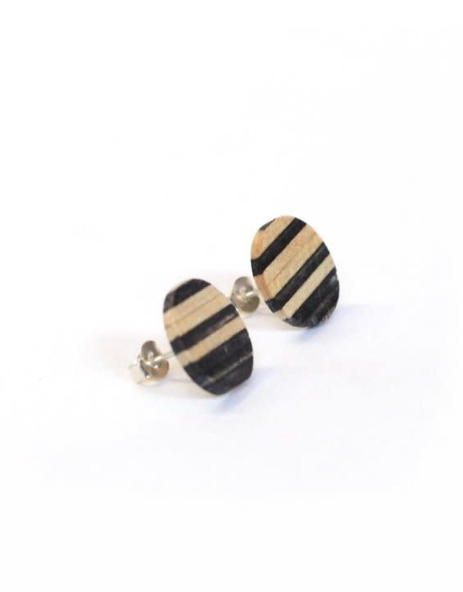Maple XO Strata Stud Earrings - Maple XO