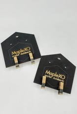 Maple XO Polare Stud Earrings - Maple XO