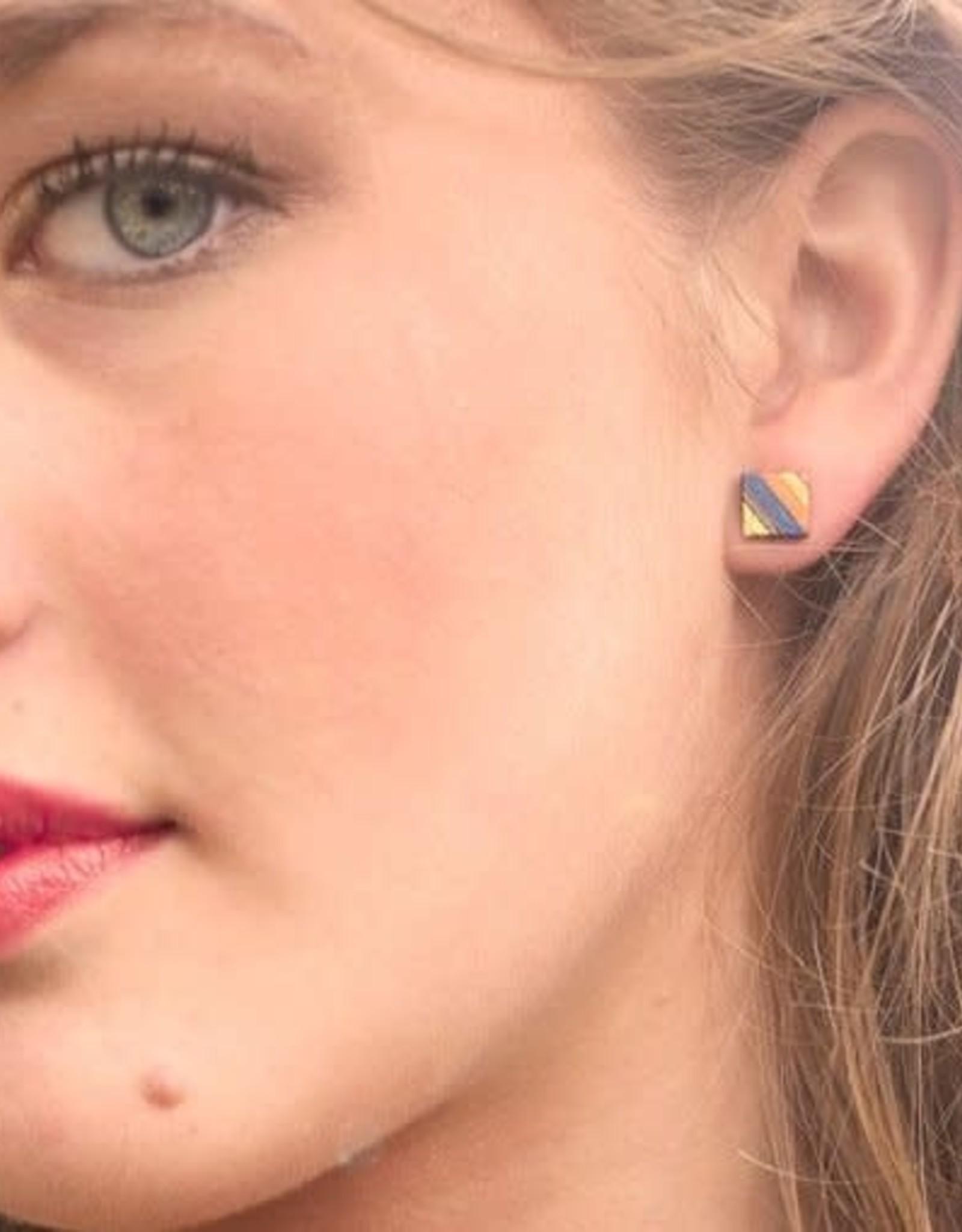 Maple XO Spectra Stud Earrings - Maple XO