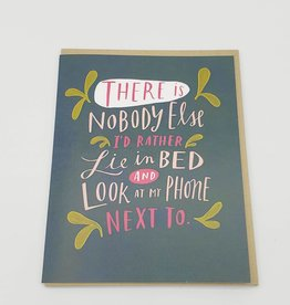 """Emily McDowell """"Look at My Phone"""" Greeting Card - Emily McDowell"""