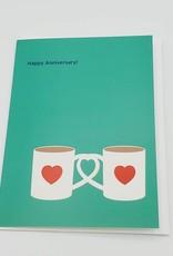 """Drunken Dare Anniversary"" Greeting Card - Calypso"
