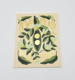 """Two Peas in a Pod"" Greeting Card - Rifle Paper Co."