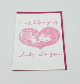 """Baby It's You"" Love Greeting Card - Ghost Academy"