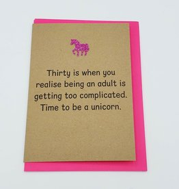 "Bettie Confetti ""Be A Unicorn"" Greeting Card by Bettie Confetti"
