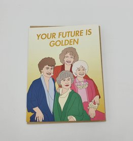 """Seltzer """"Your Future is Golden"""" Greeting Card - Seltzer"""