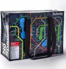"""Blue Q """"Subway"""" Shoulder Tote by Blue Q"""
