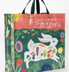 "Blue Q ""Your Garden Is Amazing"" Bunny Rabbit Large Shopper Tote Bag by Blue Q"