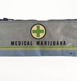 Blue Q Pencil Case: Medical Marijuana by Blue Q
