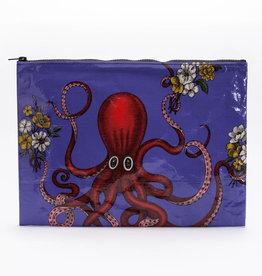 """Blue Q """"Octopus"""" Jumbo Pouch Zipper Bag by Blue Q"""