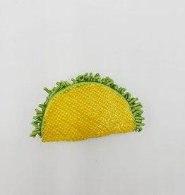Taco Ceramic Magnet by KattSplatt!